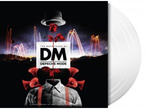 the many faces of depeche mode white lp vinyl