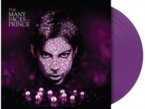 the many faces of prince limited purple vinyl