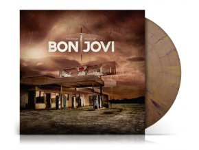 the many faces of bon jovi limited gold black splatter vinyl