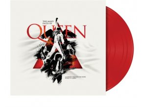 the many faces of queen limited edition red lp vinyl