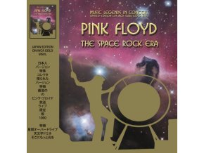 pink floyd the space rock era music legends in concert gold vinyl