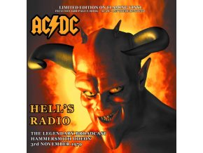ac dc hells radio the legendary broadcast hammersmith odeon vinyl
