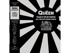 queen tear it up in tokyo all the hits from tokyo grey vinyl