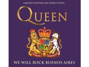 queen we will rock buenos aires purple vinyl