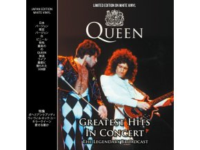 queen greatest hits in concert white vinyl