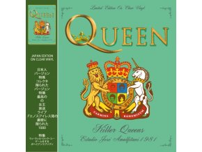 queen killer queens estadio jose amalfitani 1981 clear vinyl