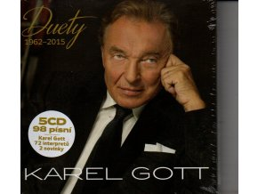karel gott duety 1962 2015 5 cd