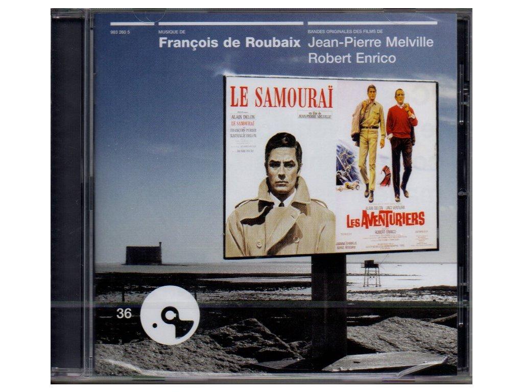 le samourai les aventuriers soundtrack cd francois de roubaix