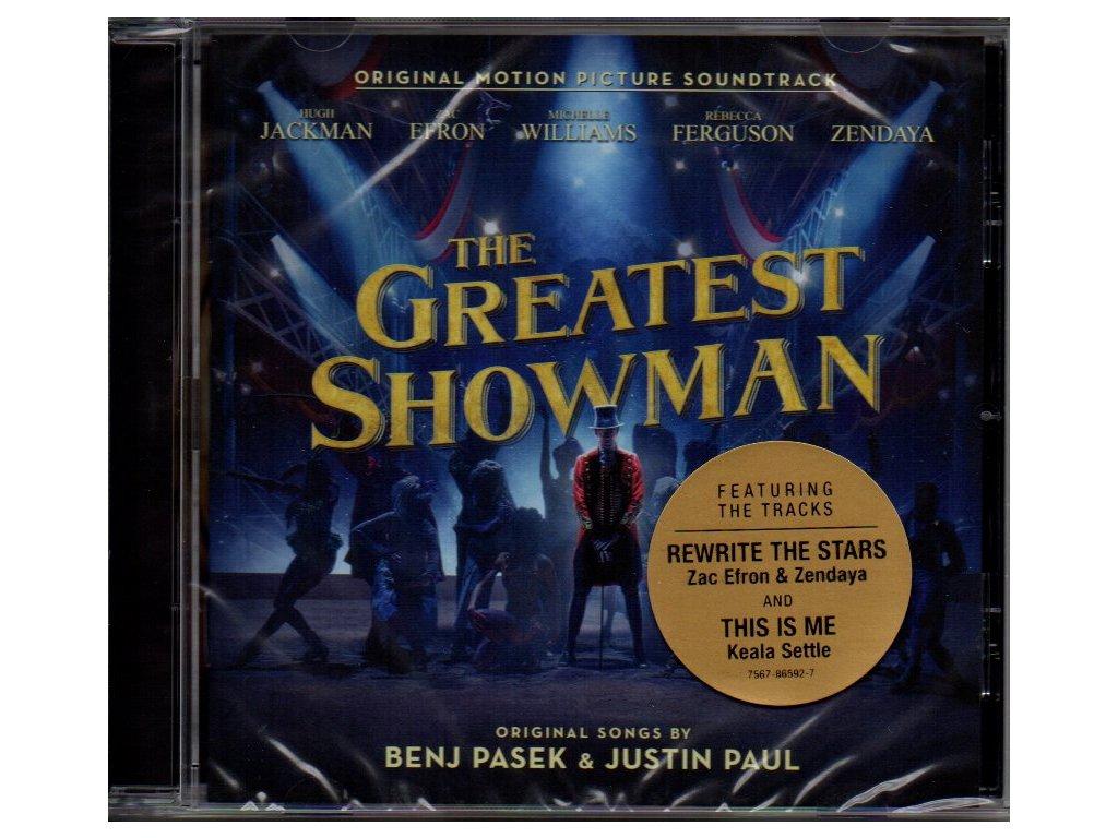 greatest showman soundtrack cd