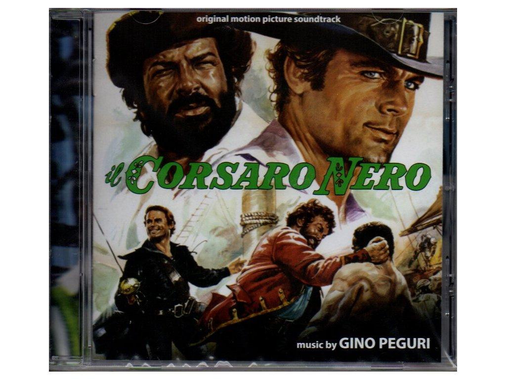 il corsaro nero soundtrack cd gino peguri
