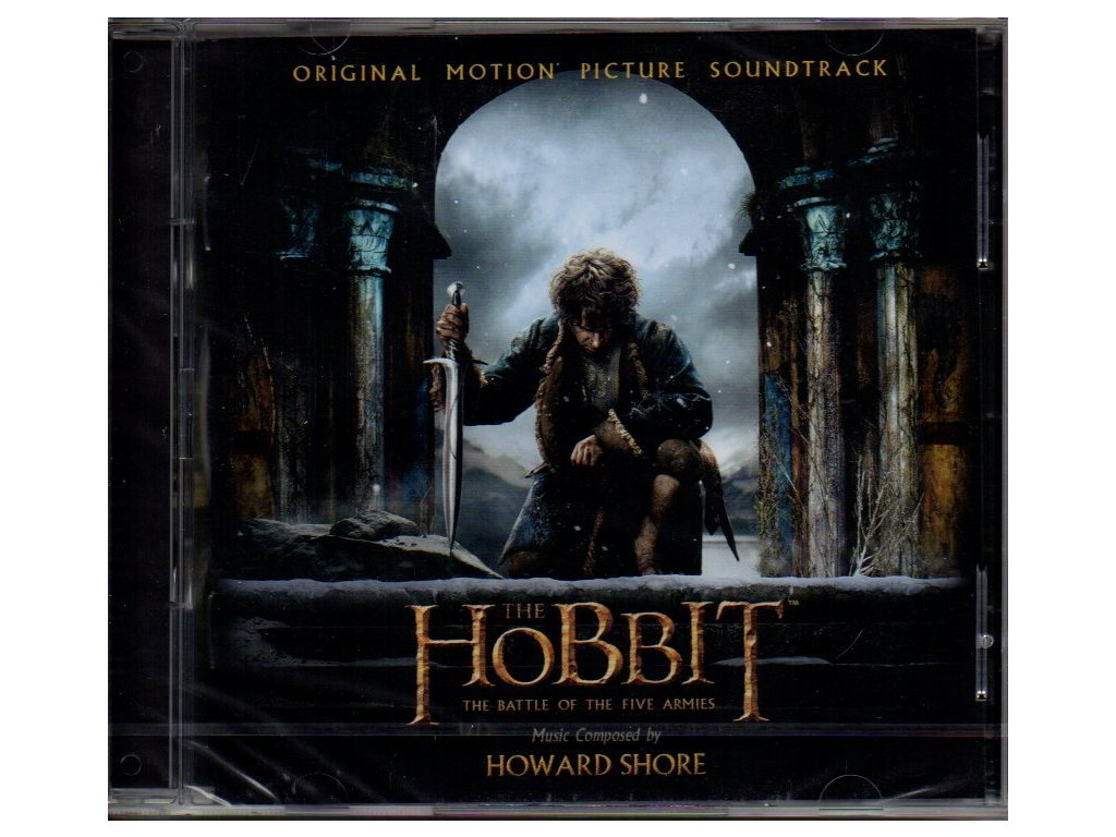 the hobbit the battle of the five armies soundtrack cd howard shore