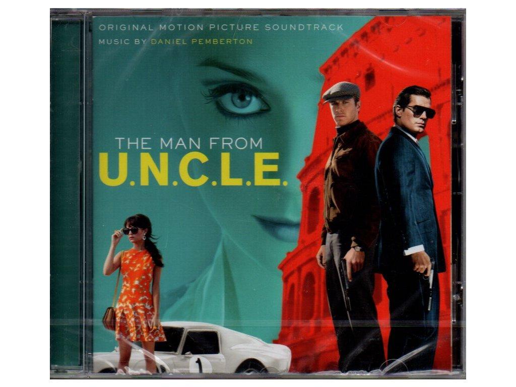 man from uncle soundtrack cd daniel pemberton