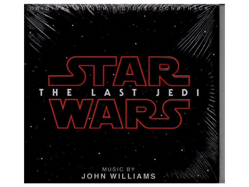 star wars the last jedi soundtrack cd john williams