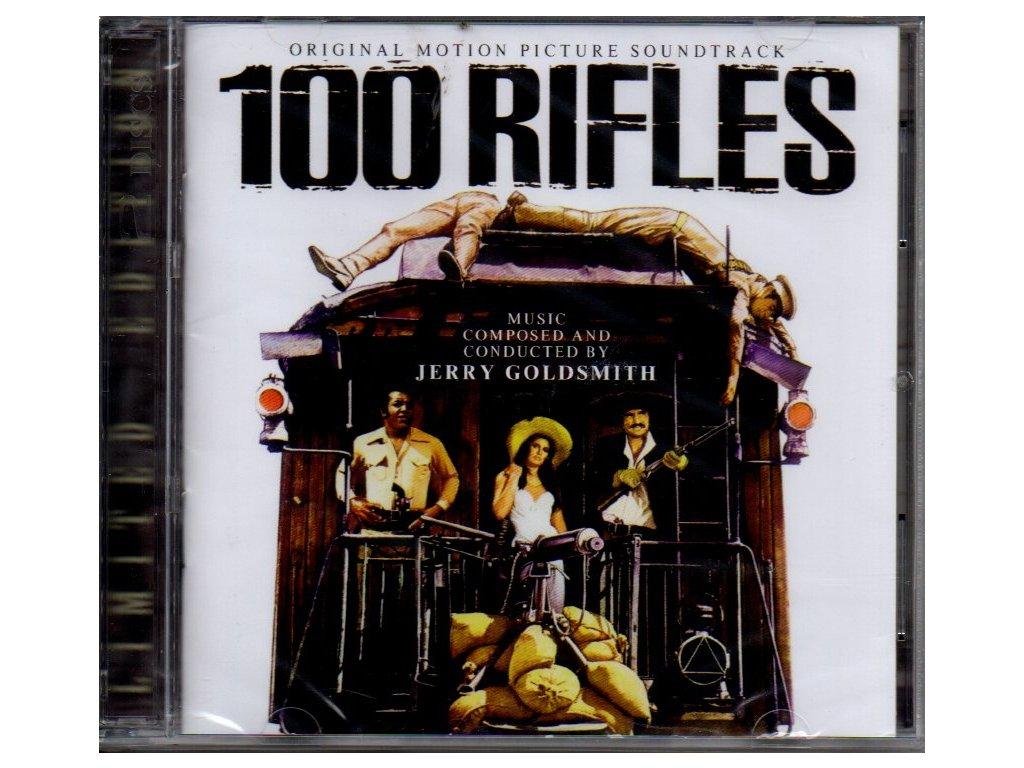 100 rifles soundtrack cd jerry goldsmith