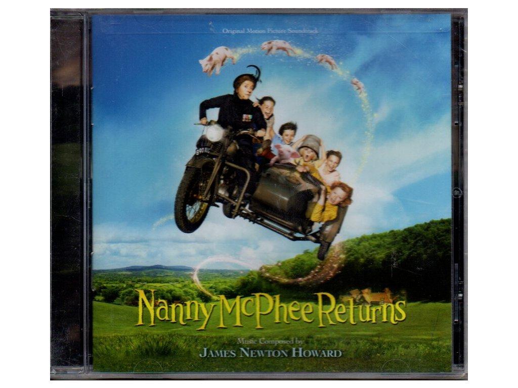 nanny mcphee returns soundtrack cd james newton howard