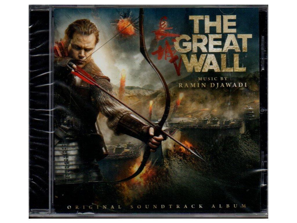 the great wall soundtrack cd ramin djawadi