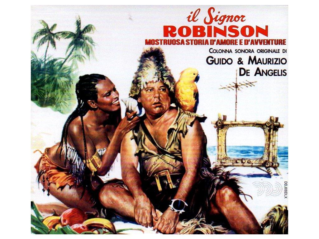 il signor robinson mostruosa storia d´amore e d´avventure soundtrack cd guido a maurizio de angelis