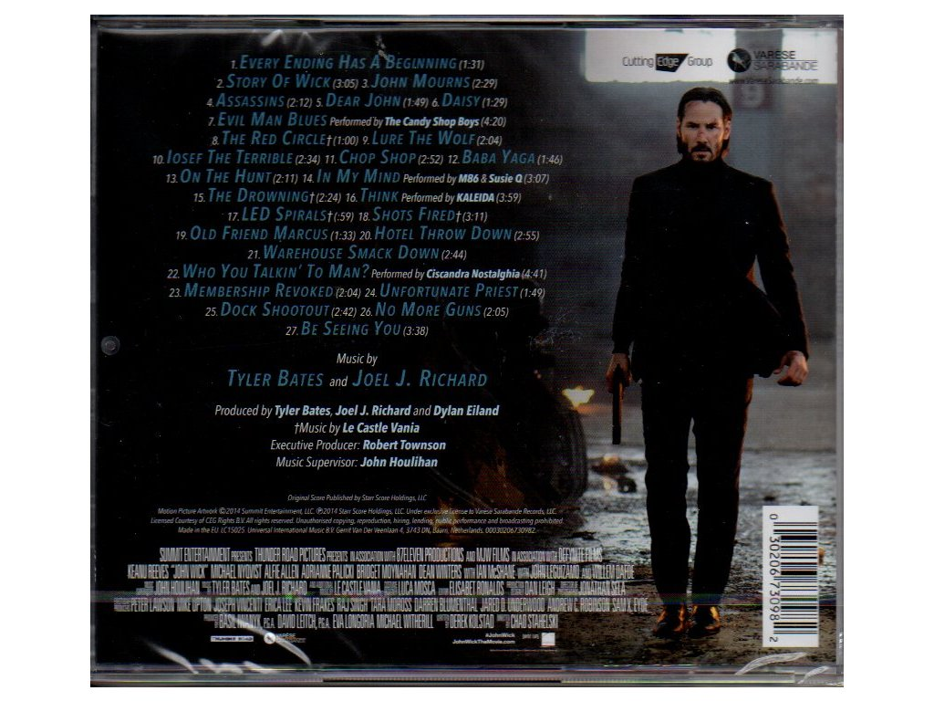 John Wick (soundtrack - CD) | CD-Soundtrack cz