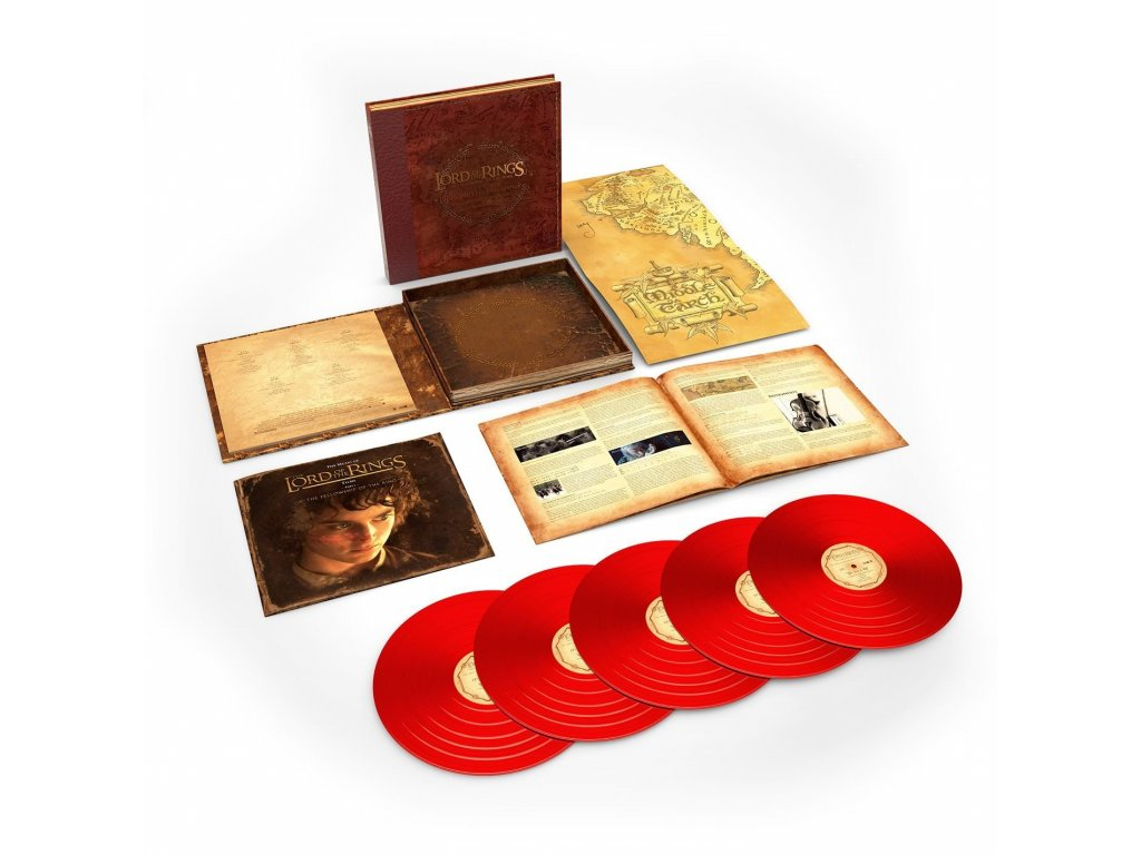lord of the rings the fellowship of the ring deluxe 5 lp collectors box