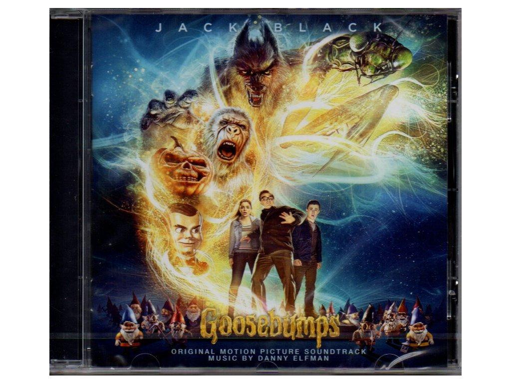 goosebumps soundtrack cd danny elfman