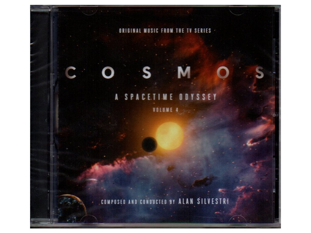 cosmos a spacetime odyssey volume 4 soundtrack cd alan silvestri