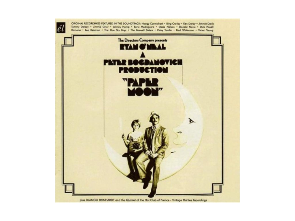 Various Artists - Paper Moon (Original Recordings Featured In The Soundtrack) (Music CD)