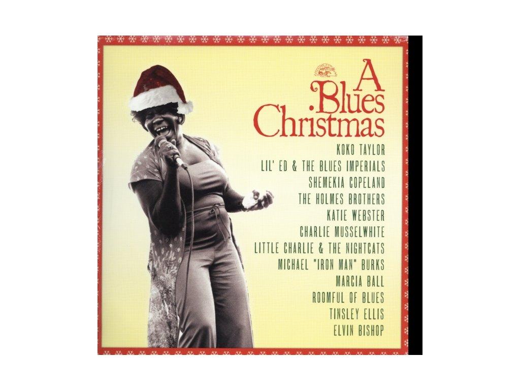 VARIOUS ARTISTS - A Blues Christmas (LP)