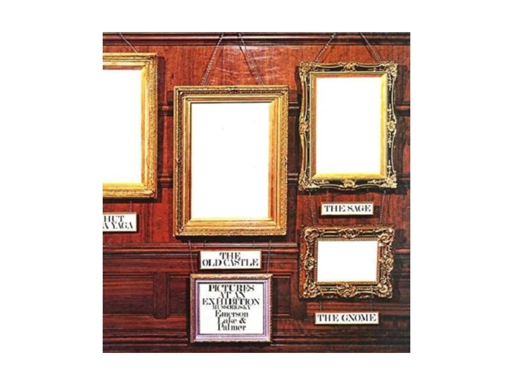 EMERSON LAKE & PALMER - Pictures At An Exhibition (LP)