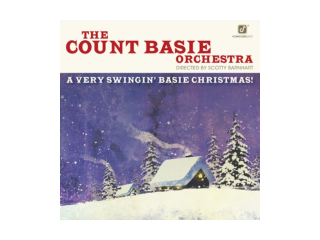 COUNT BASIE ORCHESTRA - A Very Swingin Basie Christmas! (LP)