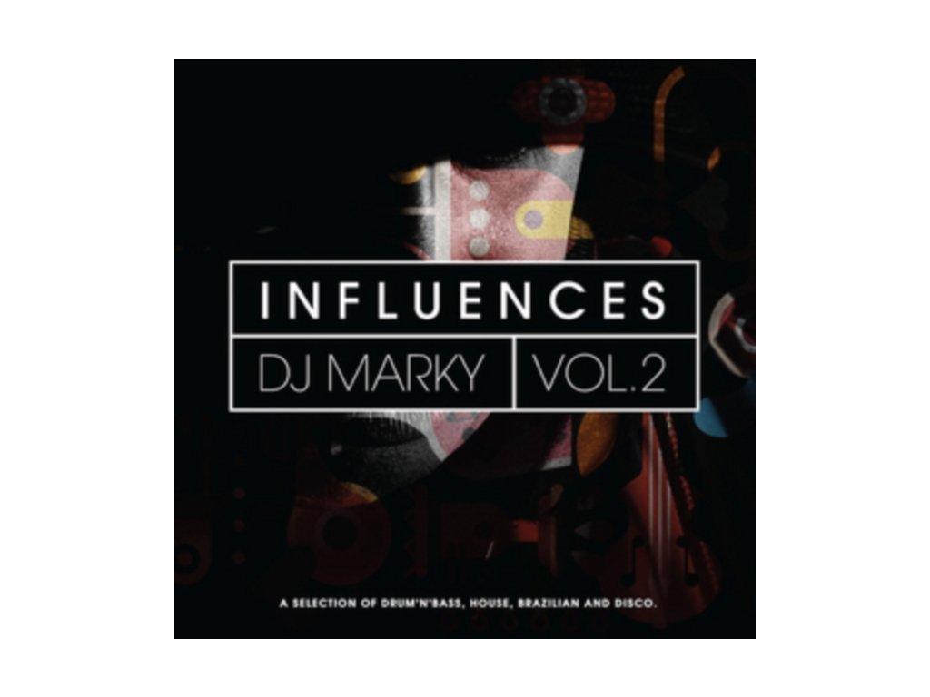 VARIOUS ARTISTS - Dj Marky Influences Vol 2 (LP)