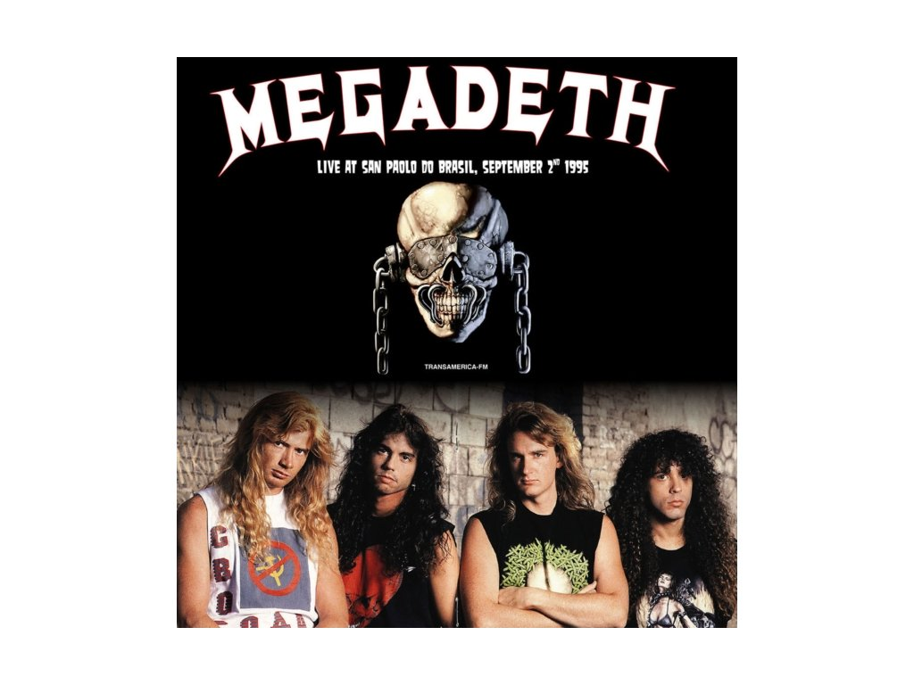 MEGADETH - Sao Paulo Do Brasil September 2nd 1995 (White Vinyl) (LP)
