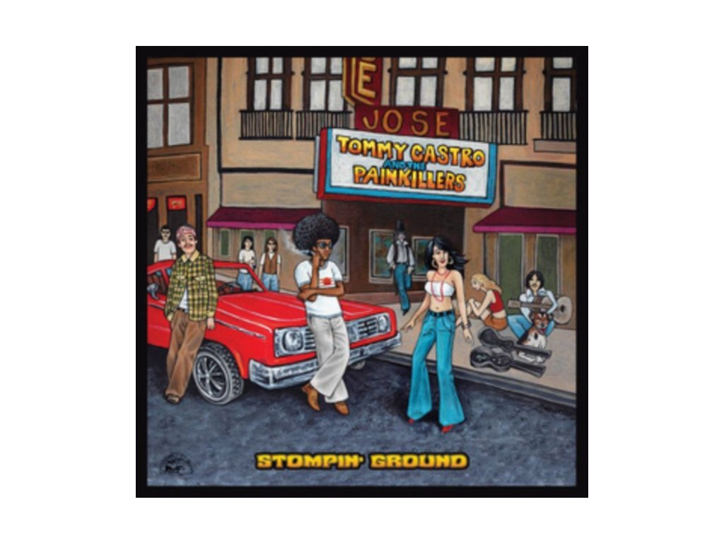 TOMMY CASTRO & THE PAINKILLERS - Stompin Ground (LP)
