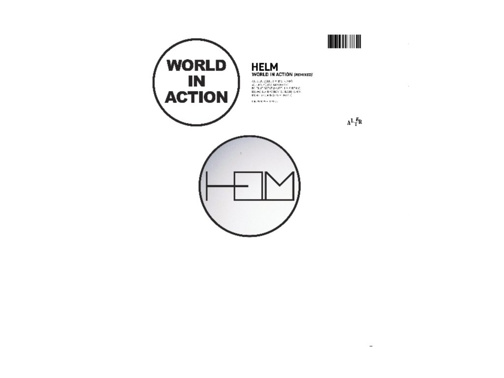"""HELM - World In Action Remixed (12"""" Vinyl)"""