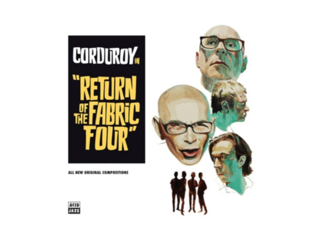 CORDUROY - Return Of The Fabric Four (LP)