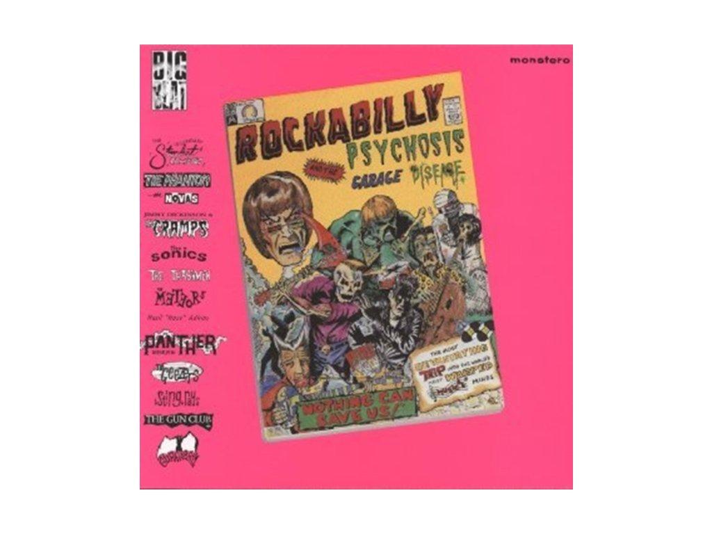 VARIOUS ARTISTS - Rockabilly Psychosis (LP)