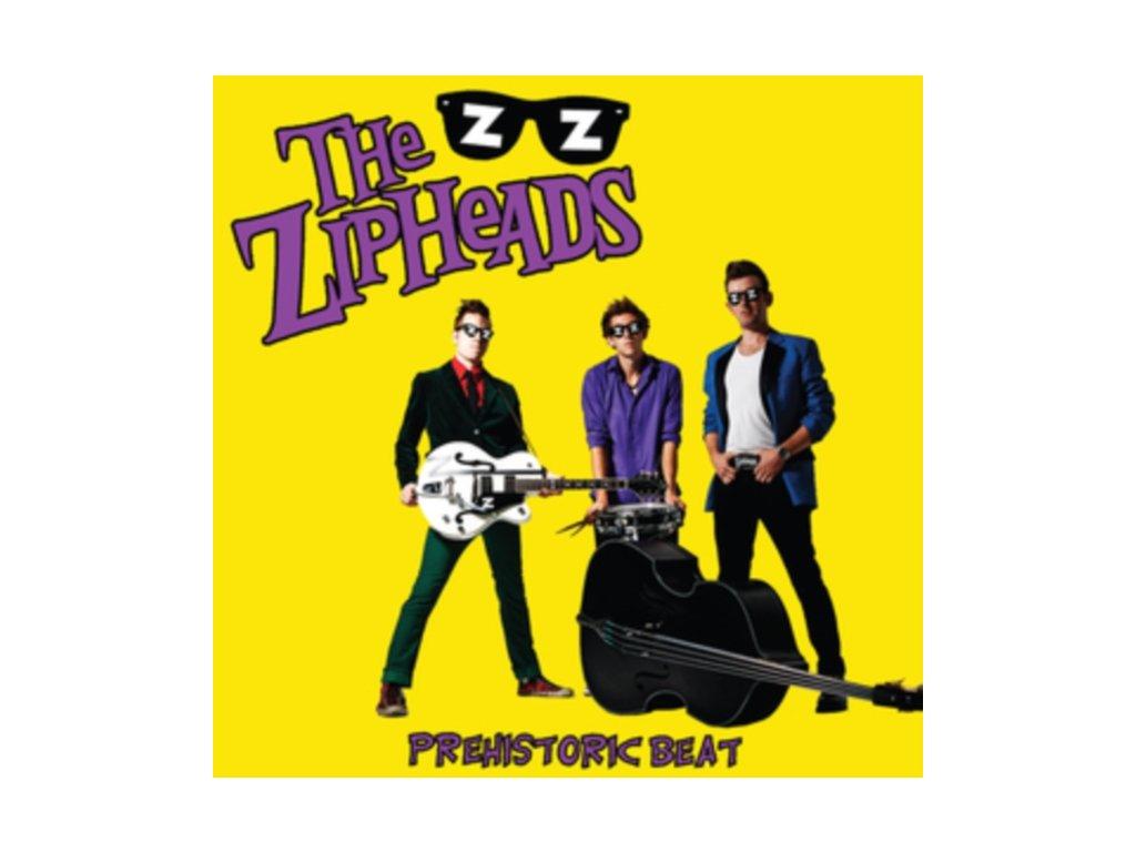 ZIPHEADS - Prehistoric Beat (LP)