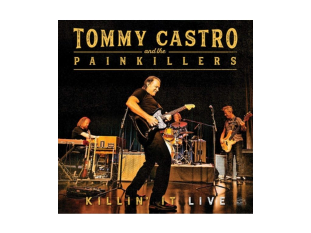 TOMMY CASTRO & THE PAINKILLERS - Killin It - Live (LP)