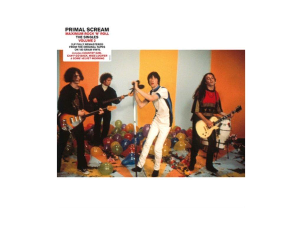 PRIMAL SCREAM - Maximum Rock N Roll: The Singles (Volume 2 - 2000 - 2016) (LP)