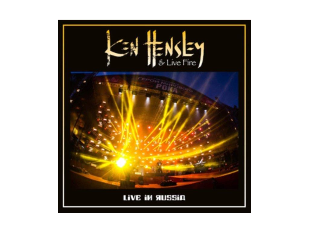 KEN HENSLEY & LIVE FIRE - Live In Russia (LP + DVD)