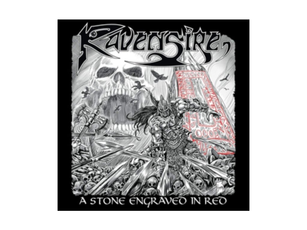 RAVENSIRE - A Stone Engraved In Red (LP)