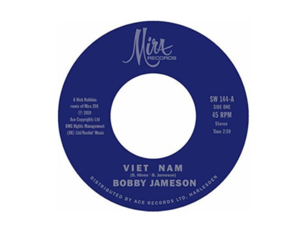 "BOBBY JAMESON - Viet Nam / Viet Nam (Instrumental) (7"" Vinyl)"