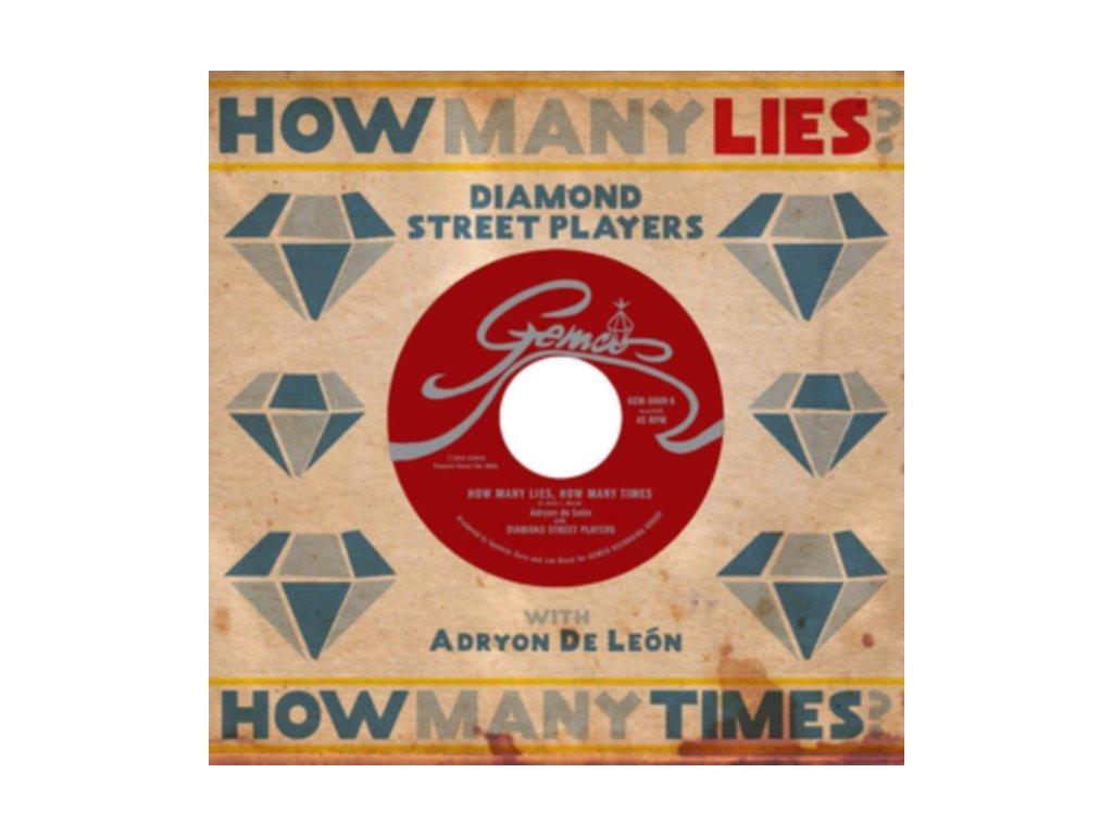 "DIAMOND STREET PLAYERS - How Many Lies. How Many Times (7"" Vinyl)"