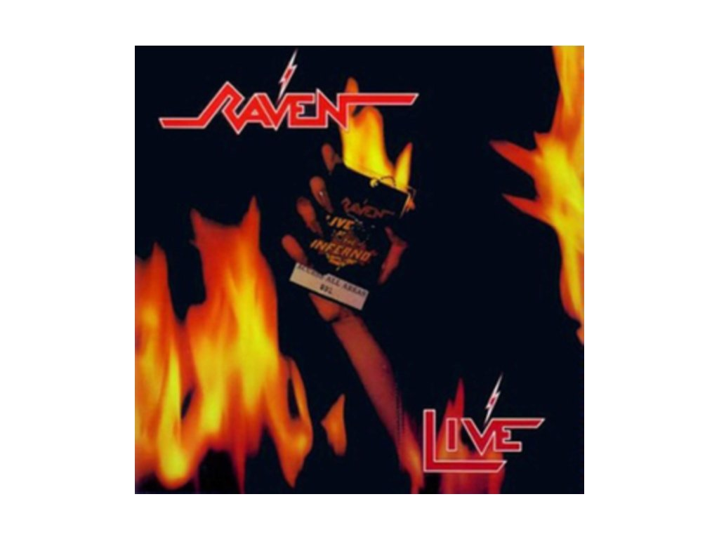 RAVEN - Live At The Inferno (LP)