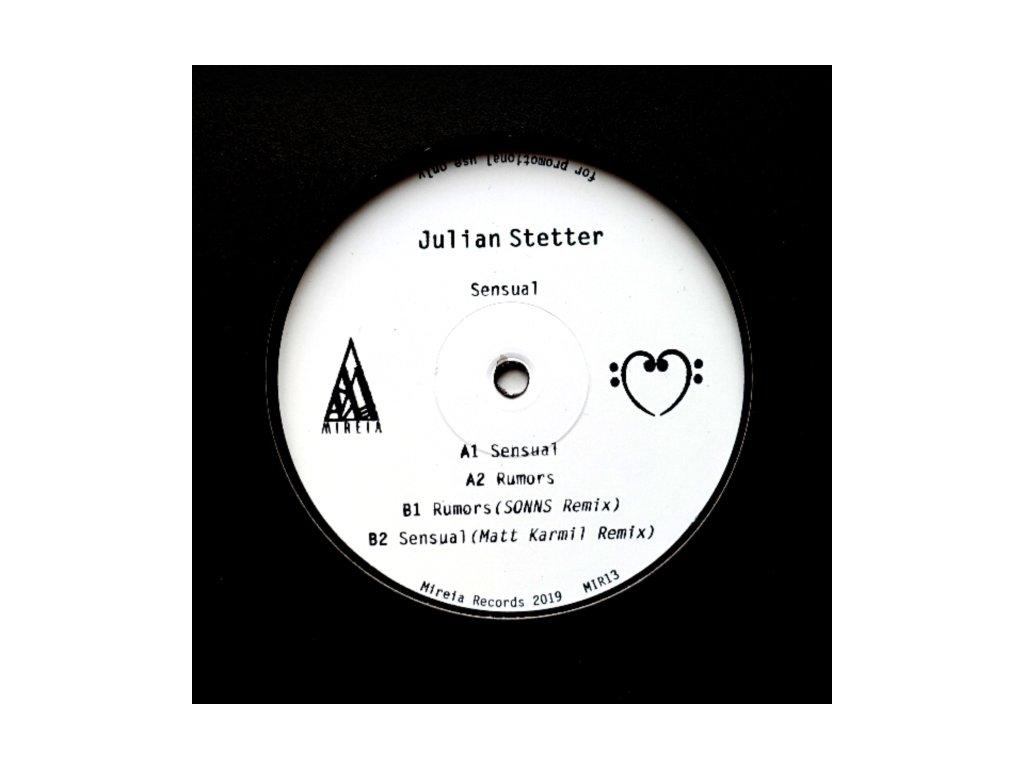 "JULIAN STETTER - Sensual (12"" Vinyl)"