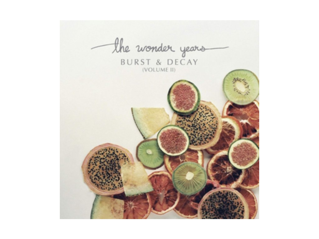 WONDER YEARS - Burst & Decay - Vol. 2 (Coloured Vinyl) (LP)