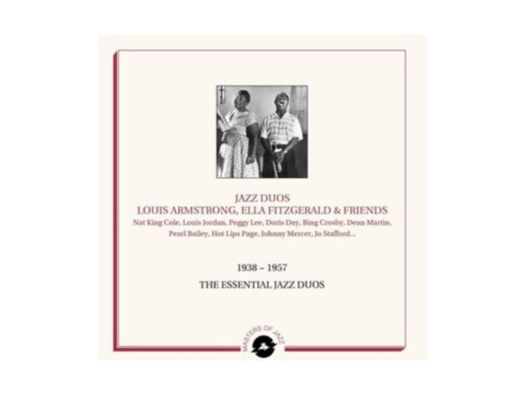 VARIOUS ARTISTS - Jazz Duos - Louis Armstrong. Ella Fitzgerald And Friends - 1938-1957 Essential Works (LP)