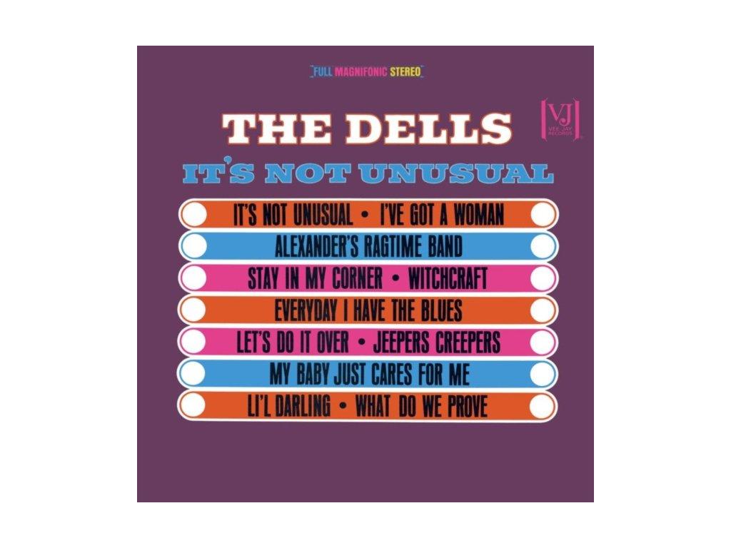 DELLS - ItS Not Unusual (LP)