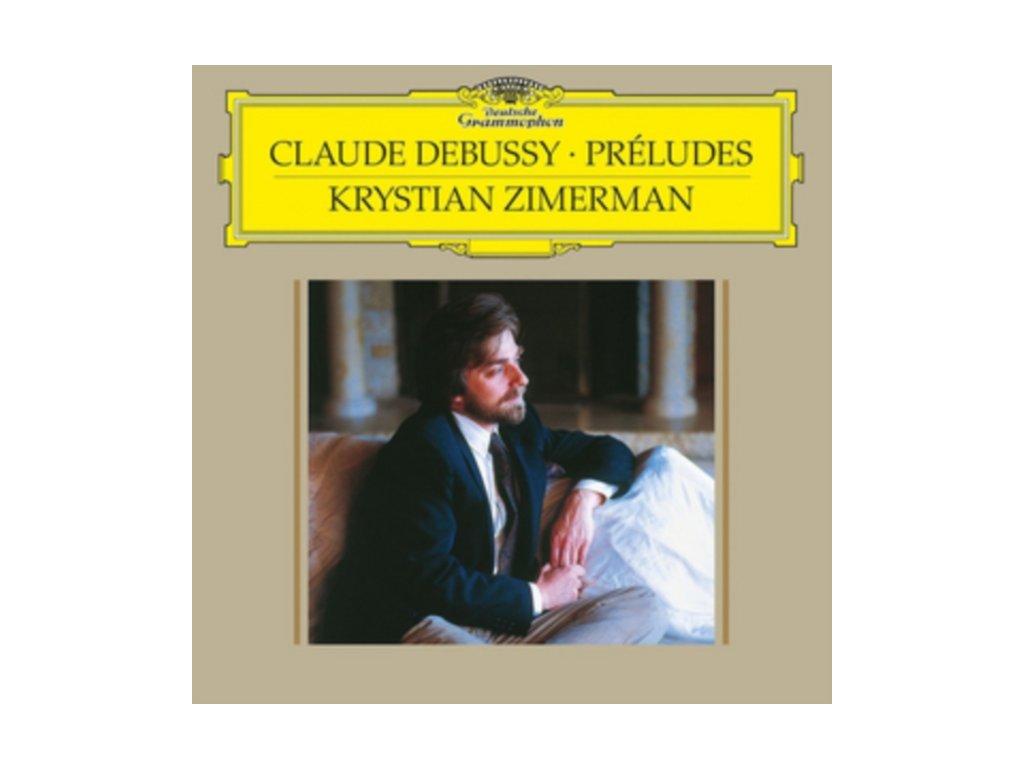 KRYSTIAN ZIMERMAN - Debussy / Preludes (LP)