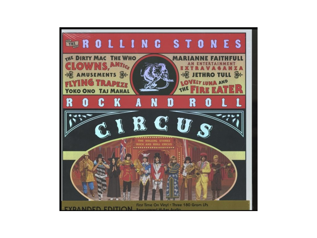 ROLLING STONES - Rock And Roll Circus (LP)