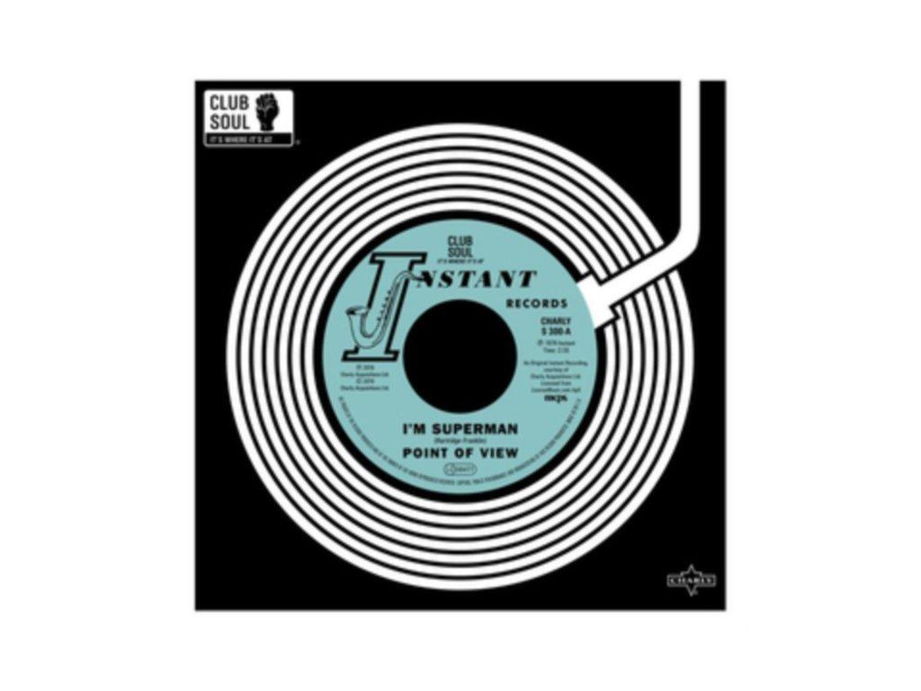 "POINT OF VIEW / CLIFF HOLMES - Im Superman / I Need Ya Baby (7"" Vinyl)"